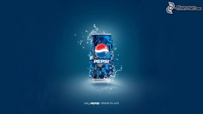 Pepsi, plåtburk