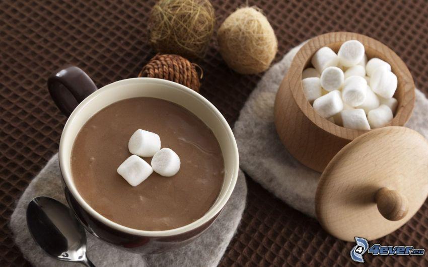 pudding, socker