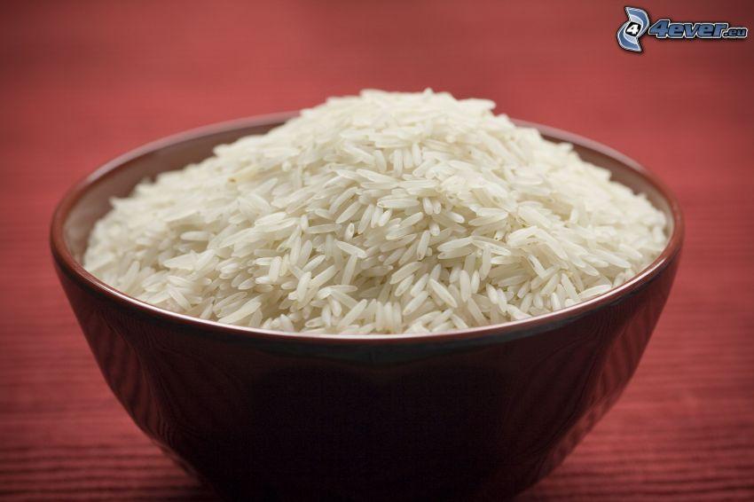 ris, skål