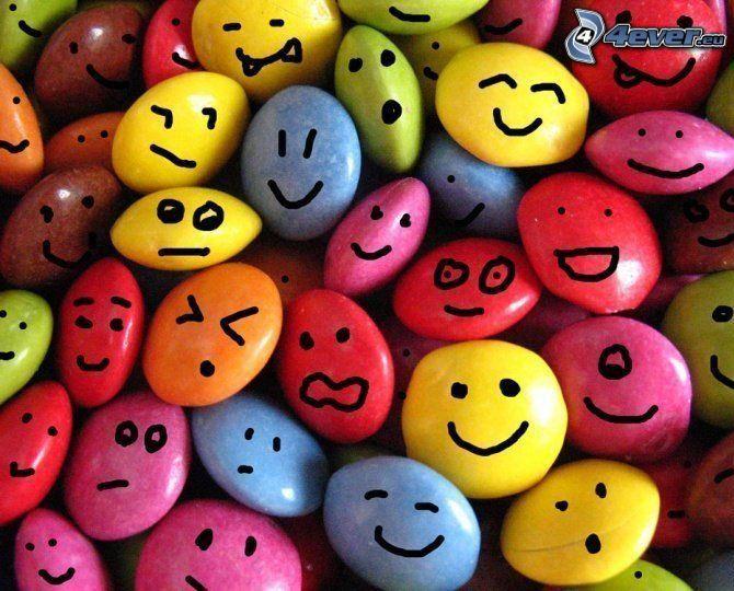 Smarties, smileys