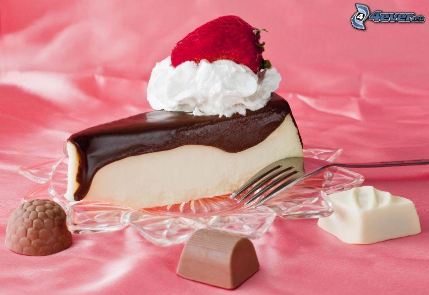 tårtbit, chokladpraliner