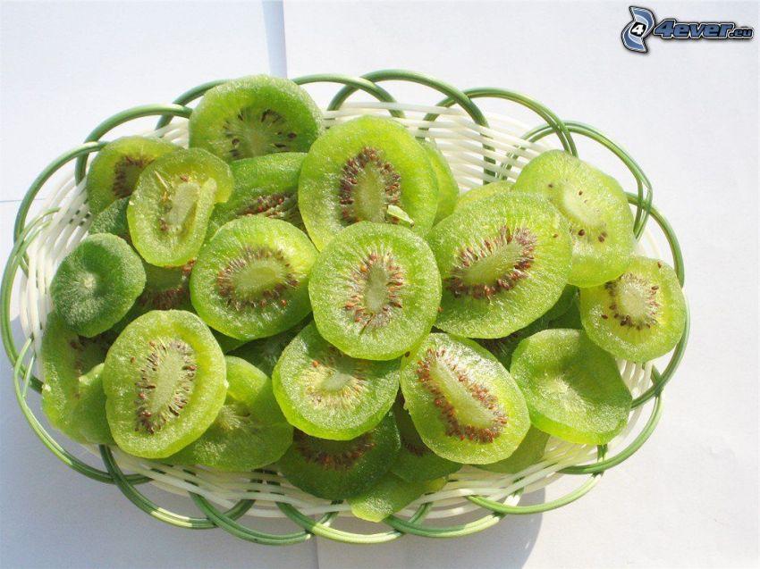 torkad kiwi