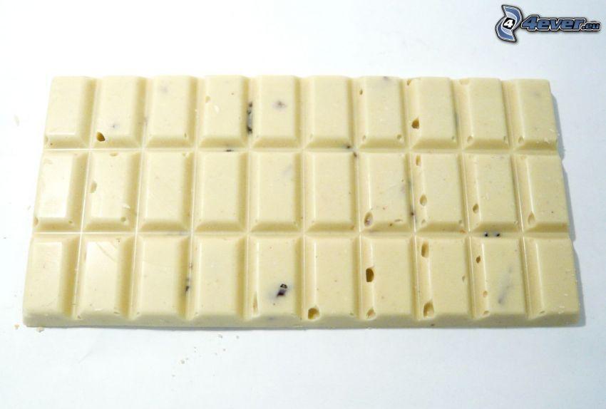 vit choklad