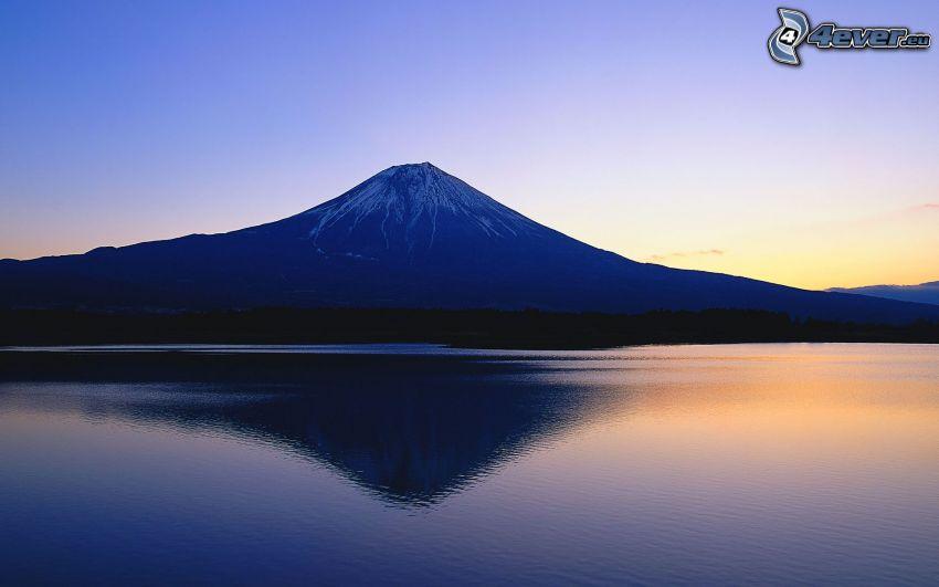berget Fuji, sjö