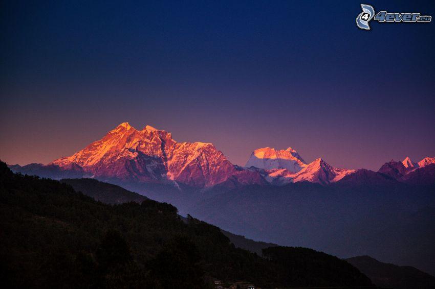 Himalaya, klippiga berg