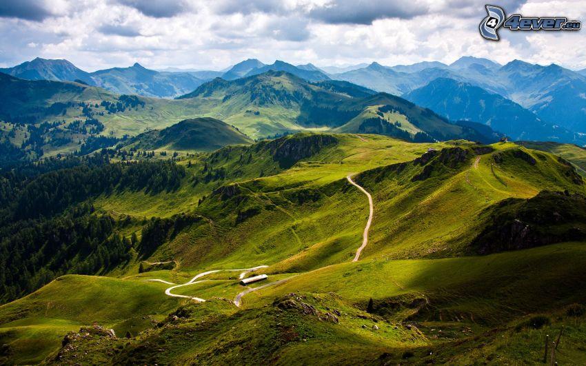 Kitzbüheler Alpen, väg