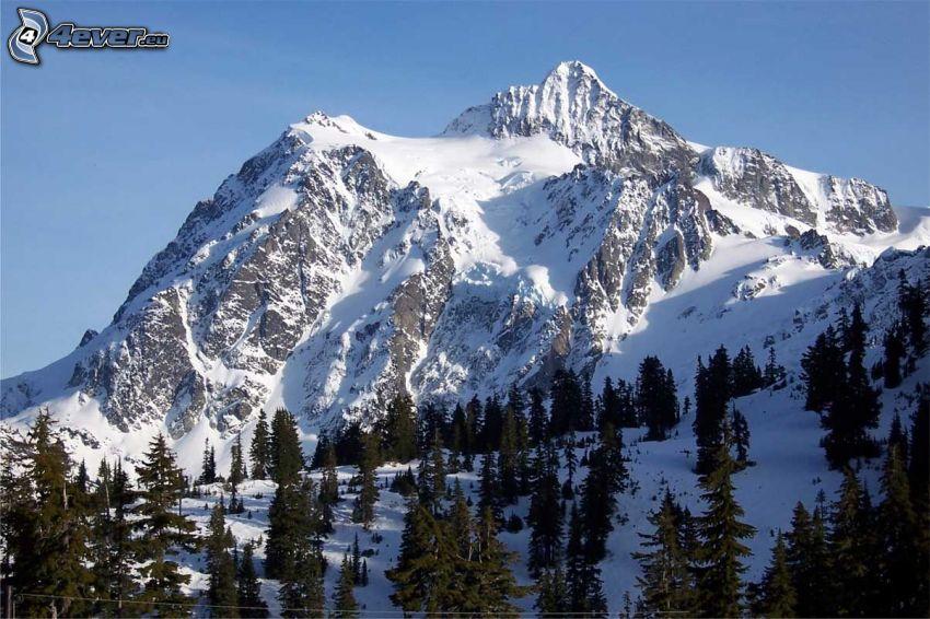 Mount Shuksan, klippigt berg