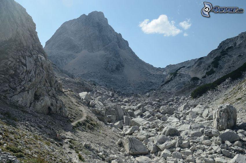 Totes Gebirge, klippiga berg