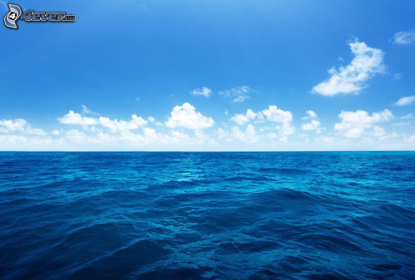 hav, moln