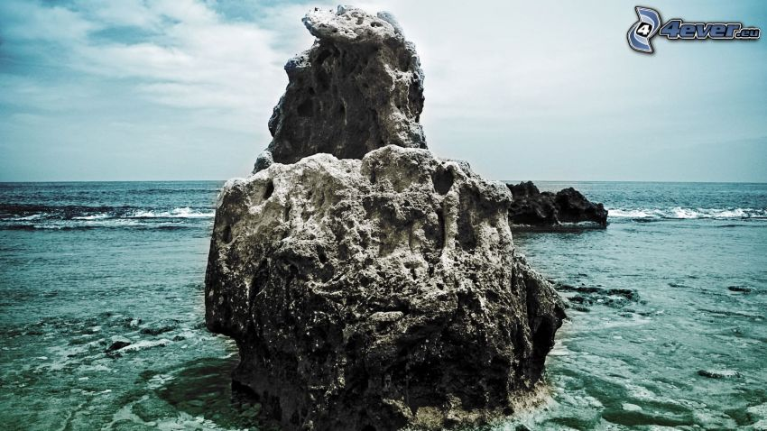 klippa, hav