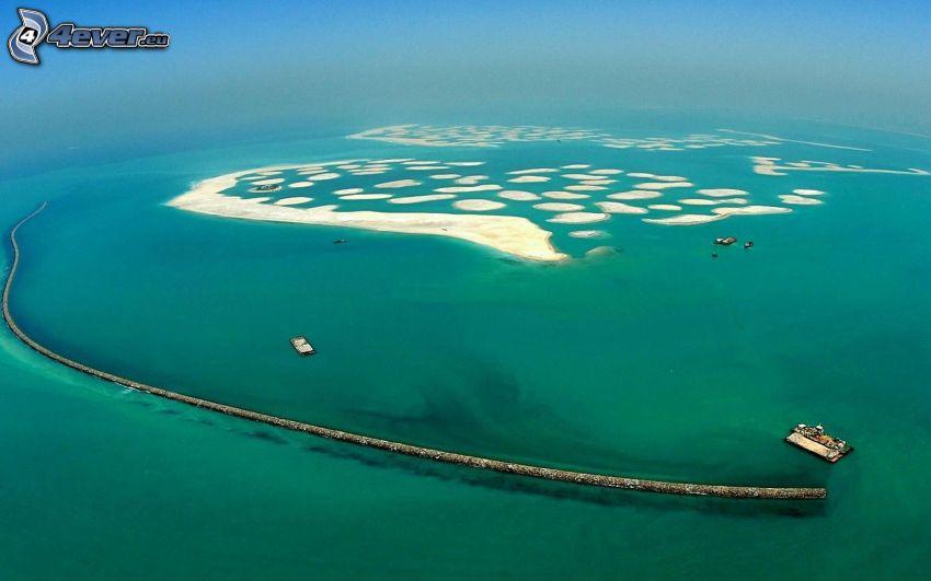 The World, hav, Dubai, Förenade Arabemiraten