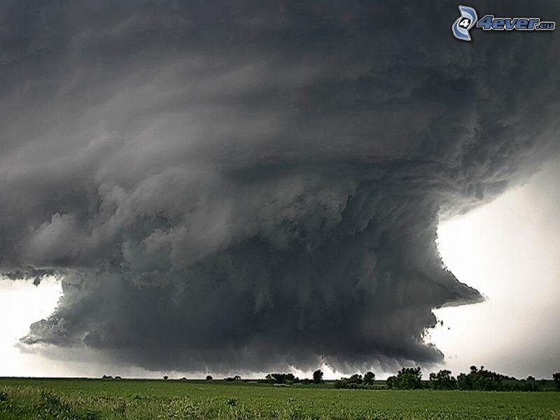 tornado, katastrof, storm
