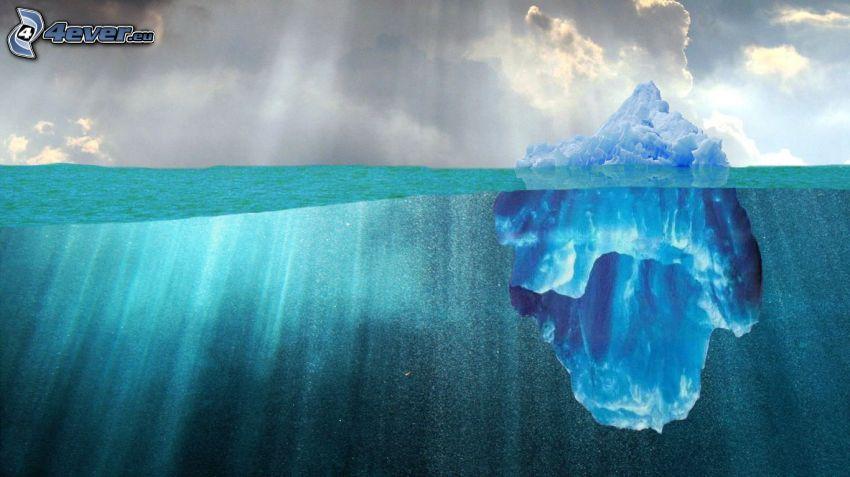 isflak, glaciär