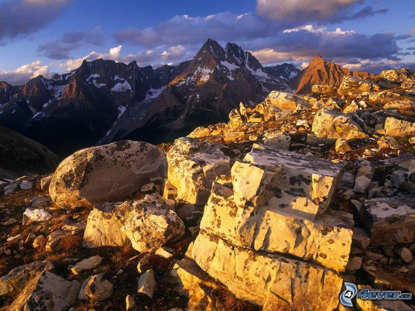 klippor, berg
