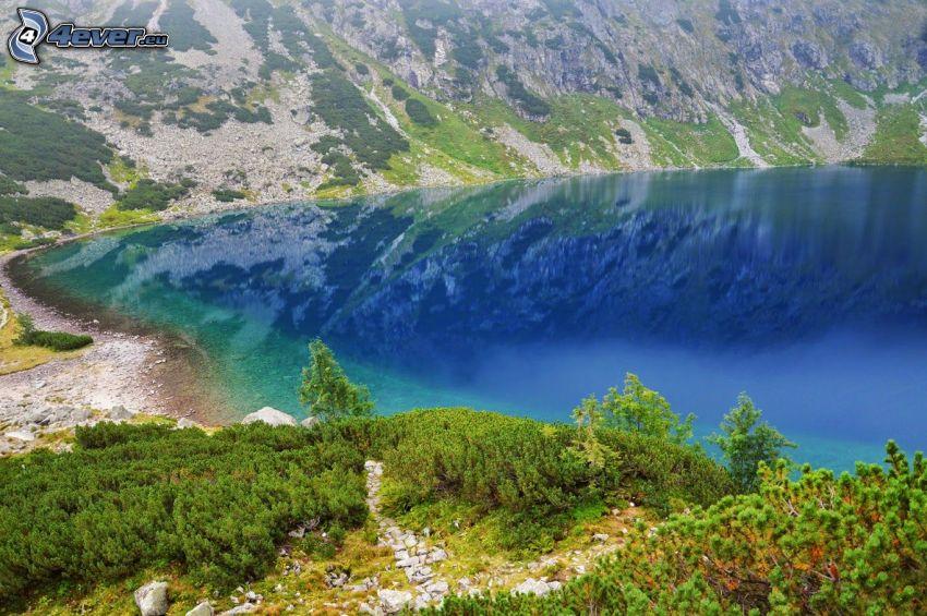 Kolsai Lakes, tjärn