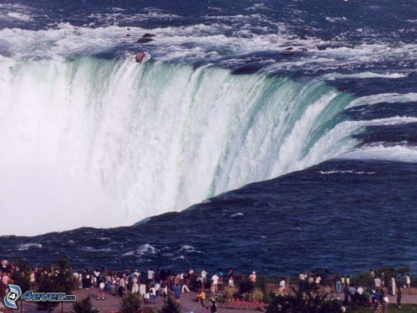 Niagaras vattenfall, utsikt