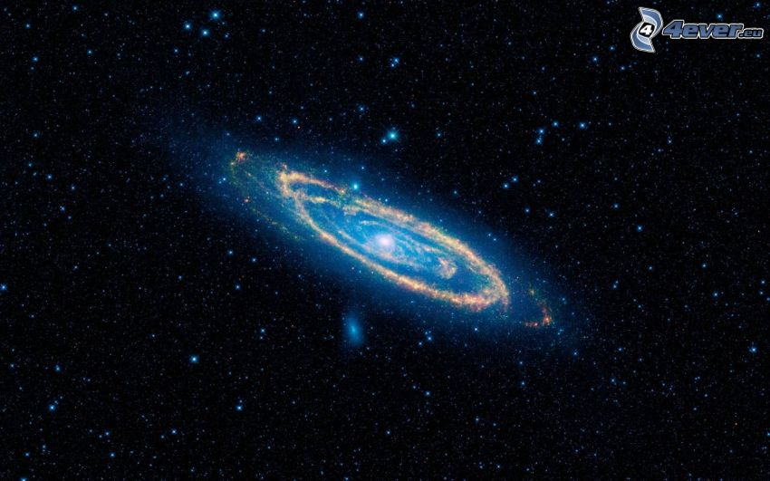 Andromeda, NGC 224, galax, stjärnor