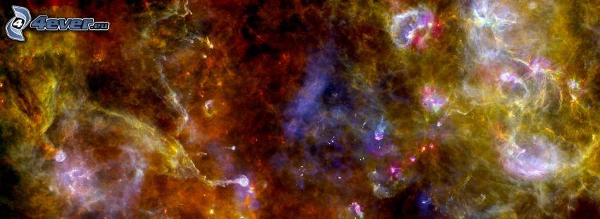 färggrann nebulosa