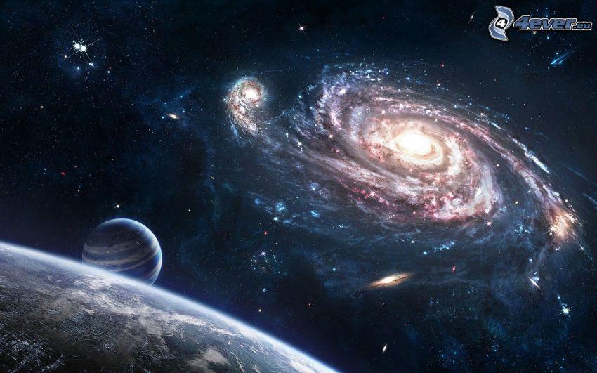 galax, Jorden