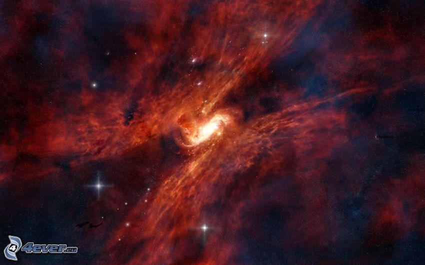 galax, nebulosor