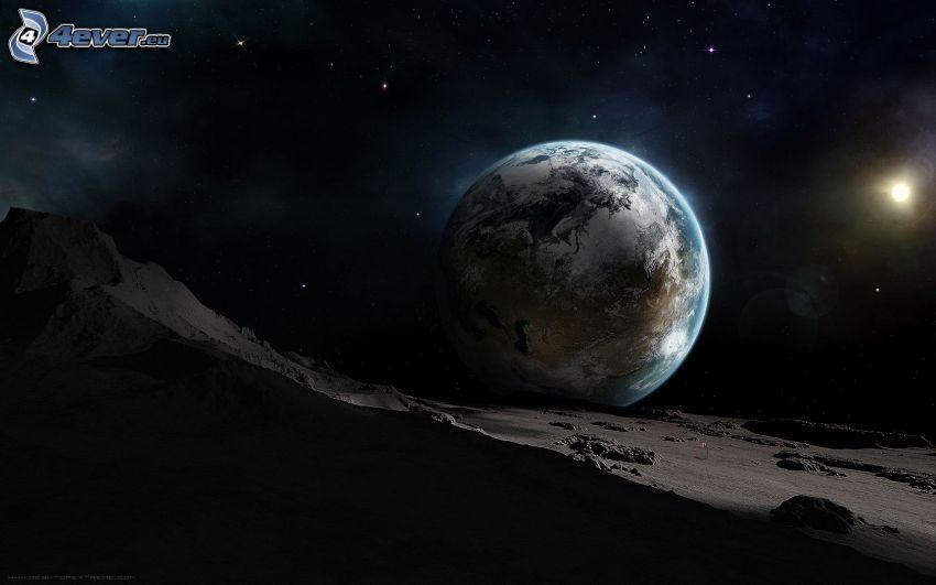 Jorden, måne