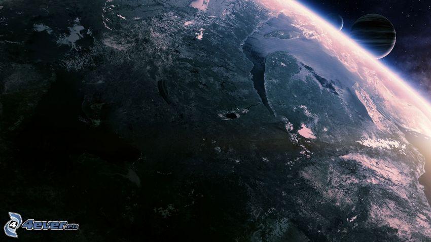 Jorden, planeter