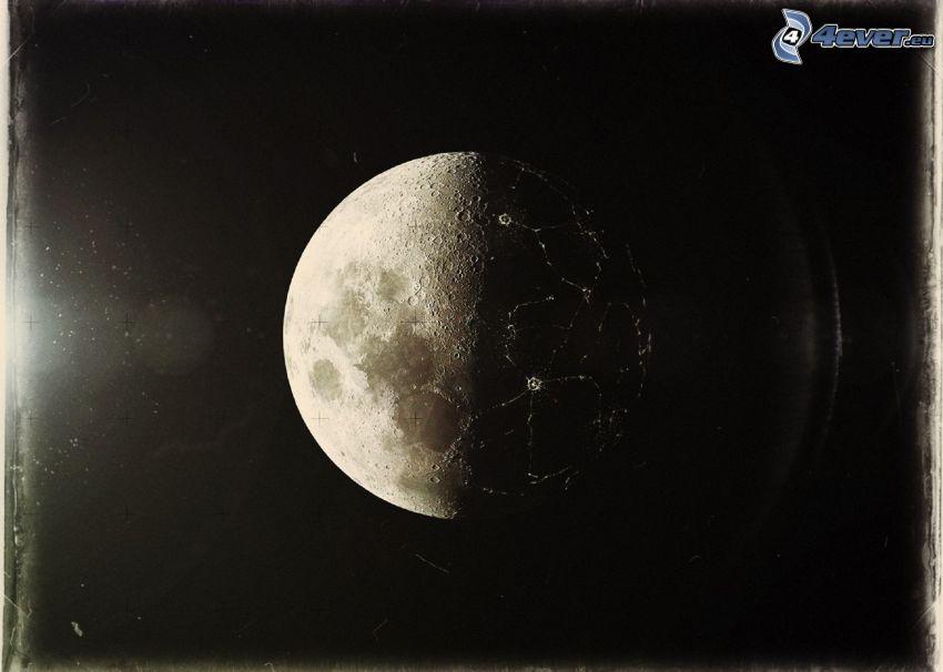 Månen, fotografi