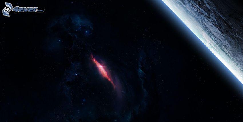 nebulosa, planeten Jorden
