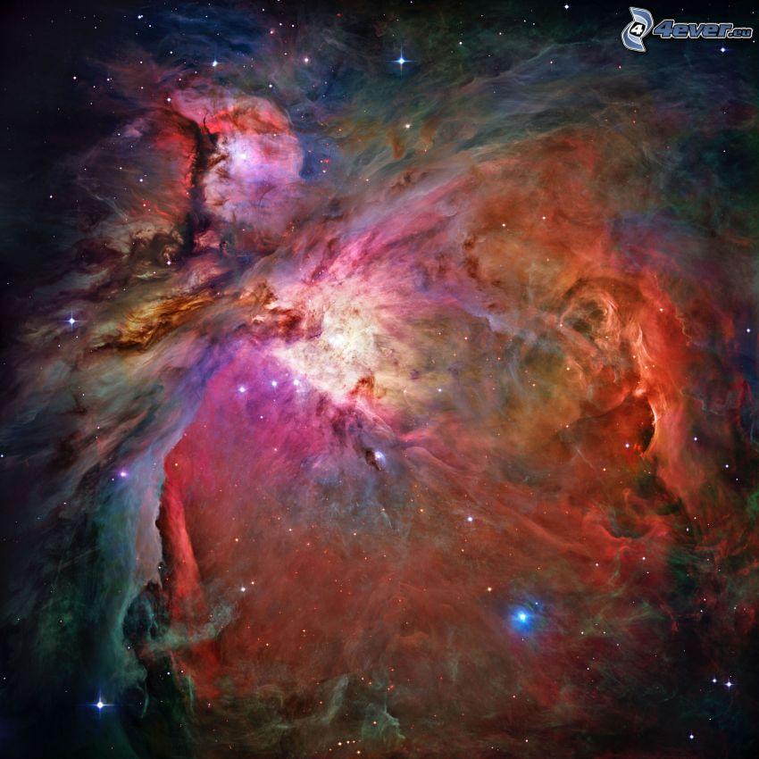 nebulosan Orion
