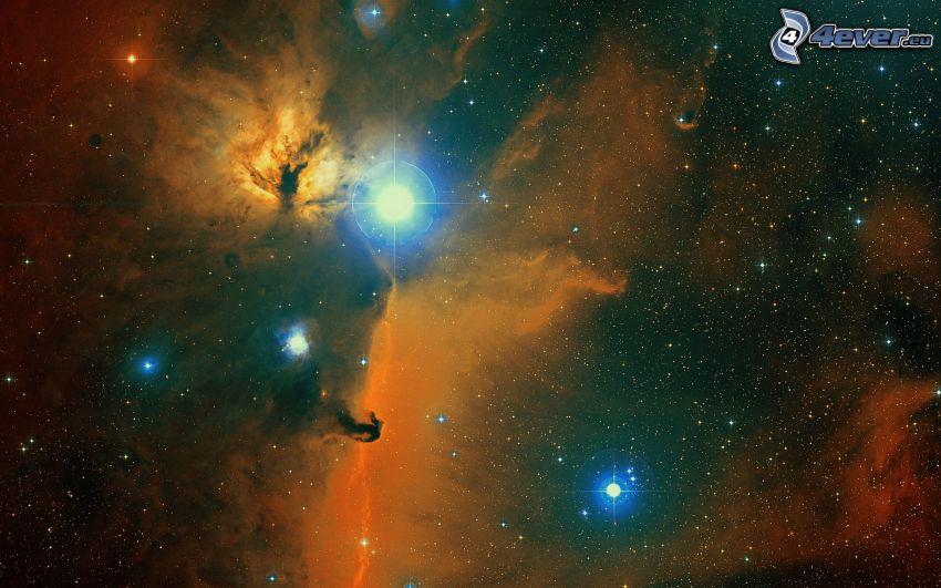 nebulosor, stjärnor