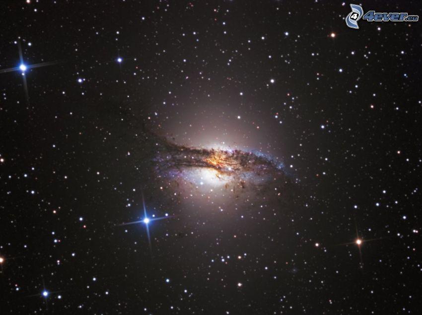 NGC 5128, galax, stjärnor
