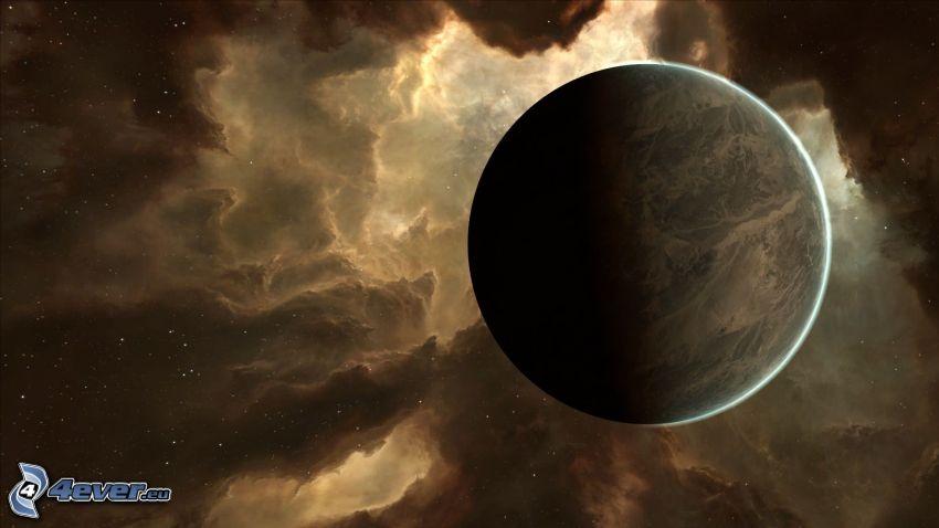 planet, nebulosa