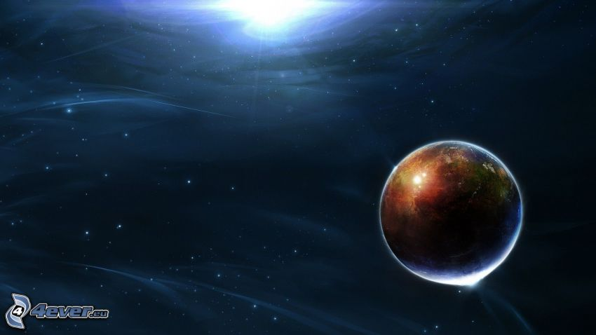 planet, rymdsken