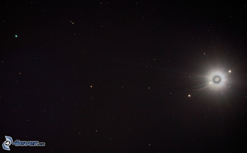 planet, stjärnor