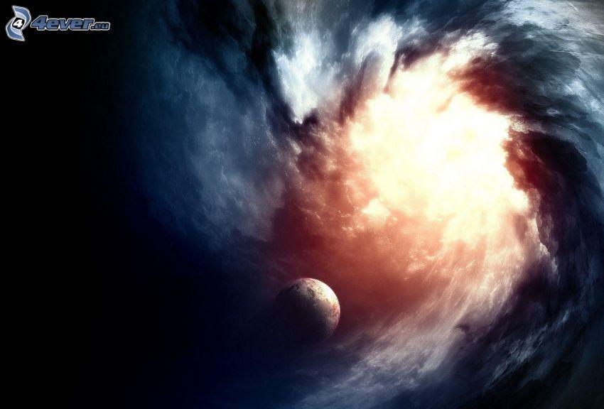 planeten Jorden, galax