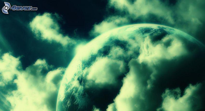 planeten Jorden, moln