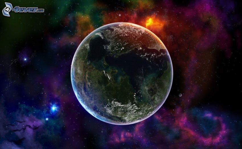 planeten Jorden, nebulosor