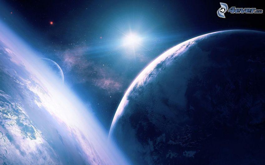 planeten Jorden, sol