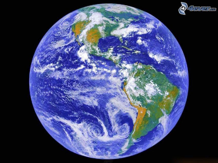 planeten Jorden, universum