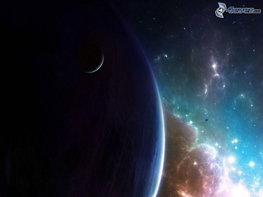 planeter, nebulosor