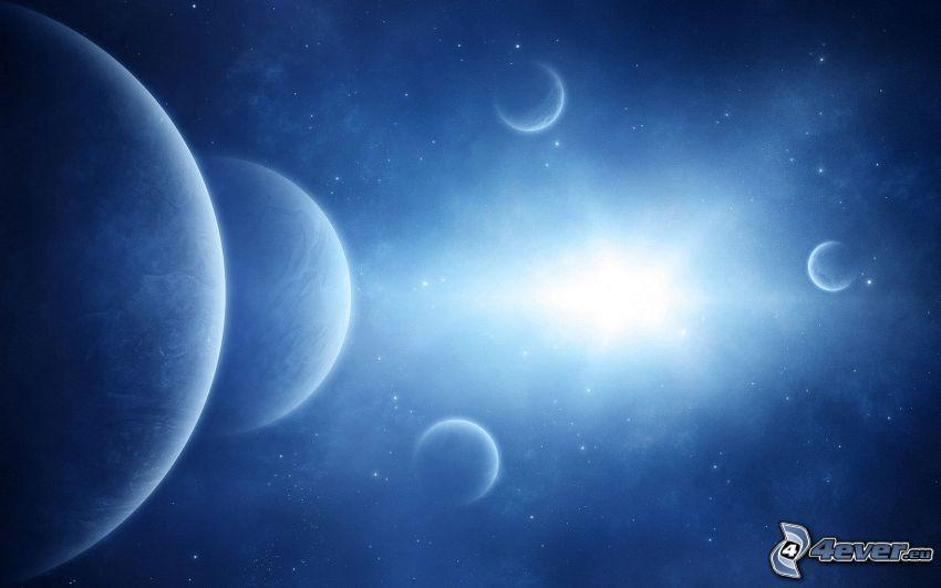 planeter, stjärnor