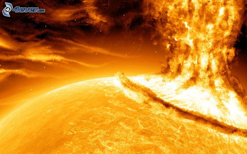 sol, explosion
