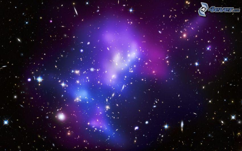 stjärnor, galax