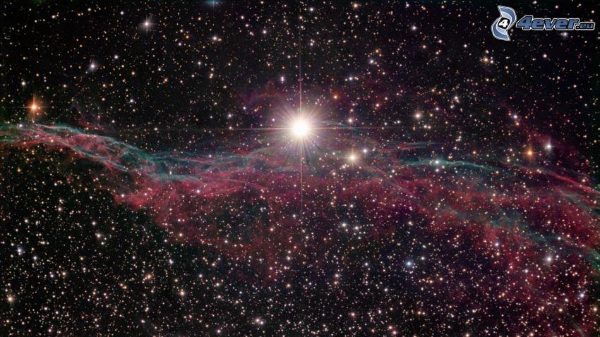 stjärnor, nebulosa