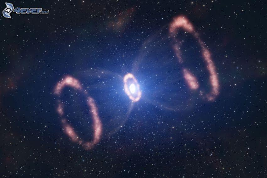 Supernova 1987A, stjärnor