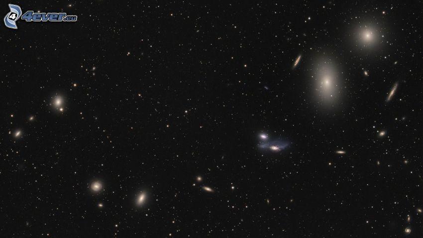 universum, galax, stjärnor