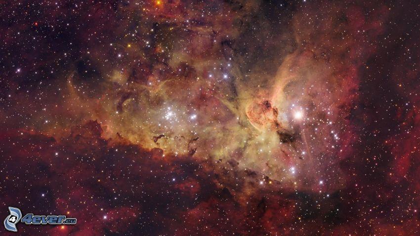 universum, nebulosor, stjärnor