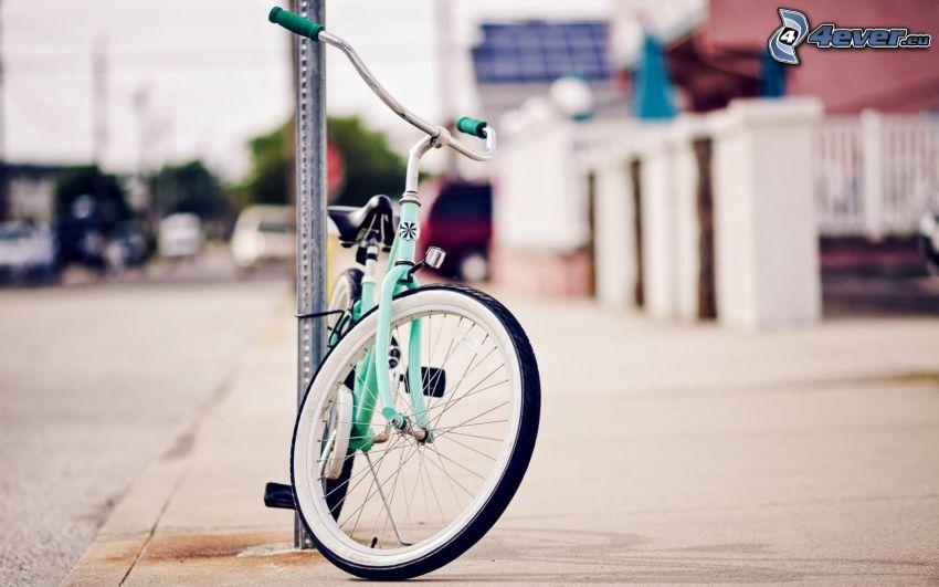 cykel, gata