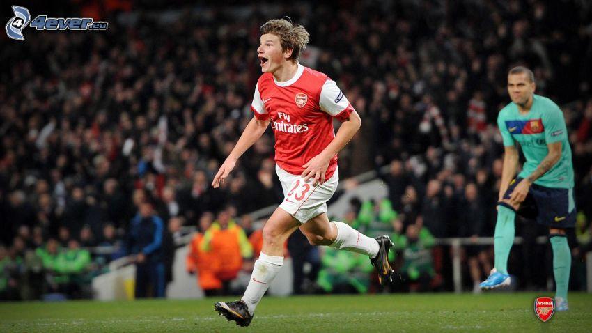 Arsenal, fotbollsspelare