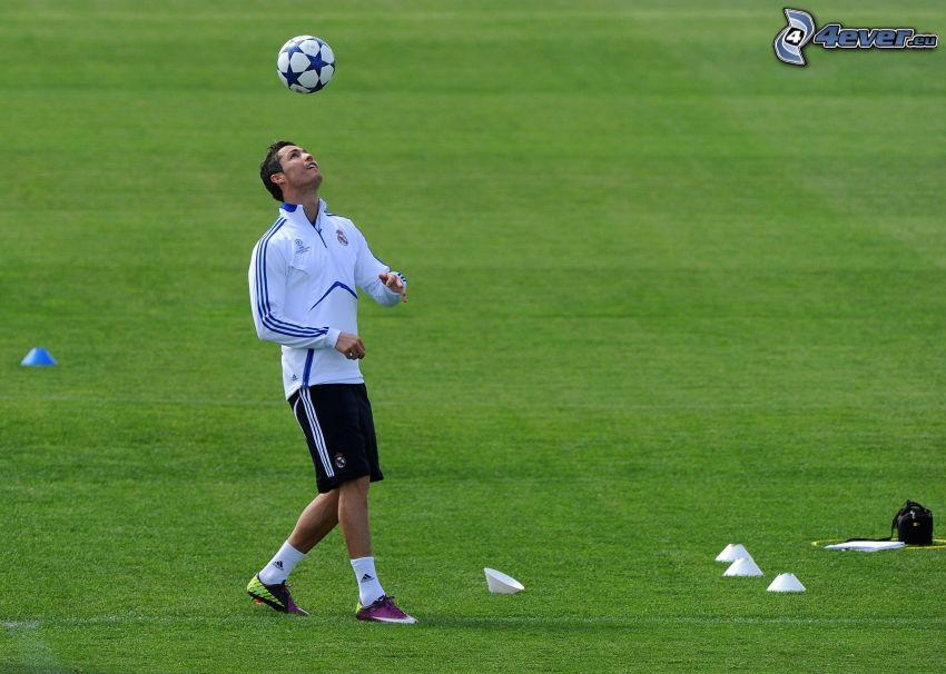 Cristiano Ronaldo, fotbollsspelare